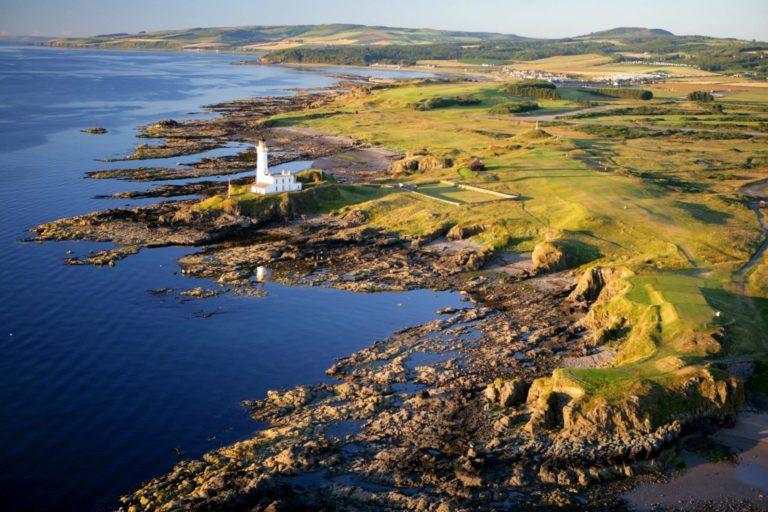 Turnberry Resort destination golf emblématique sejour vacances 3 parcours océan côte de l'Ayrshire