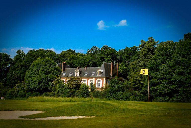 Golf de L'Hermitage Trou 5 green fairway bunker