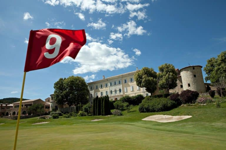 Hôtel Château et Golf De Taulane Parcours de golf 18 trous