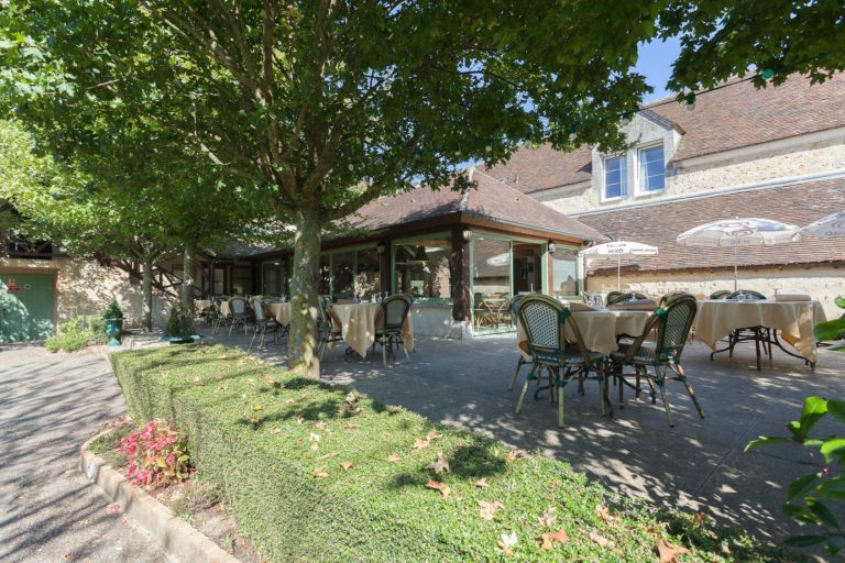 Hôtel Résidence Normandy Country Club by Popinns Restaurant terrasse exterieure