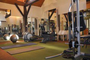 Hôtel & Spa de La Bretesche Salle de sport fitness