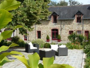 Hôtel & Spa de La Bretesche trrasse clubhouse
