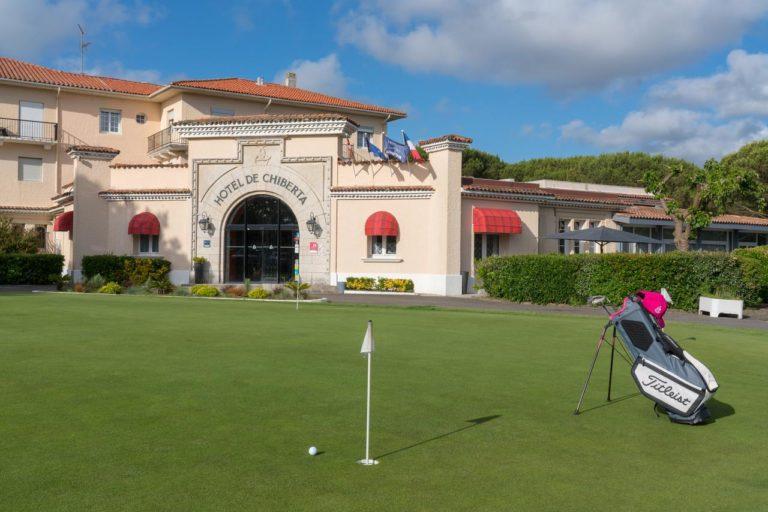 Hotel de Chiberta et du Golf Parcours de golf putting green