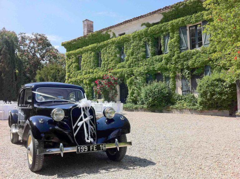 L'Appartement, Manoir de Longeveau Mariage voiture collection