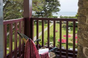 Le Castel Marie Louise Vue mer ocean balcon chambre