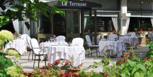Le Grand Hôtel - Domaine De Divonne Restaurant La terrasse