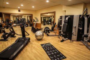 Le Grand Hôtel - Domaine De Divonne Salle de sport fitness