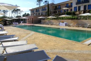 Mercure Brignoles Golf de Barbaroux & Spa Terrasse detente