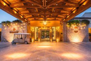 Terre Blanche Hotel Spa Golf Resort entree hotel