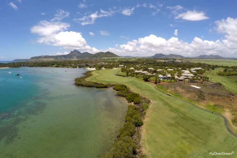 The Anahita Golf Course Aerial view