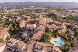 Village Pierre & Vacances Pont Royal en Provence Vue aerienne golf Hotel Appartement