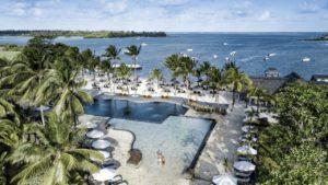 Anahita Golf & Spa Resort Aerial view of the hotel beach sea