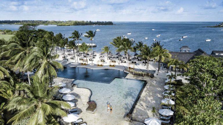 Anahita Golf & Spa Resort Vue aerienne hotel plage mer
