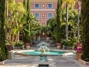 Hôtel Anantara Villa Padierna Palace Benahavís Marbella Resort Jardin fontaine vegetation