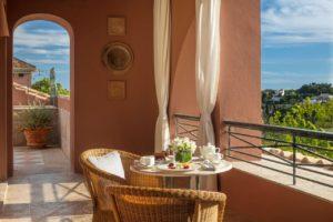 Hôtel Anantara Villa Padierna Palace Benahavís Marbella Resort Petit dejeuner