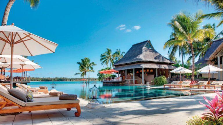 Hôtel Constance Prince Maurice Piscine palmiers vacances