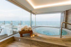 Hotel Meridional Jaccuzi Chambre Vue Mer