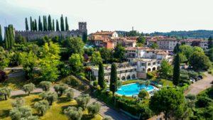 Hotel Porta Del Sole Vue générale Italie Lac de Garde Vacances Voyage Golf