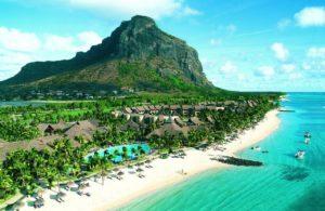 Mauritius island mountain sea Hotel Paradis Beachcomber Golf Resort & Spa