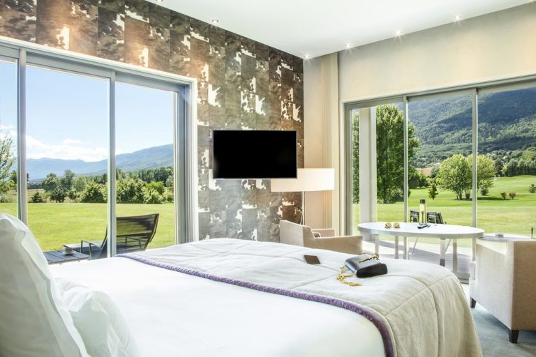 Jiva Hill Resort Chambre cue sur parcours de golf