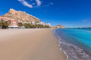Melia Alicante plage sable blanc mer turquoise vacances