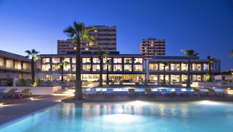 Pestana Alvor South Beach Premium Suite Hotel Nuit lumier eclairage