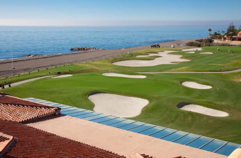 Real Club de Golf Guadalmina Parcours de golf 18 trous bord de mer