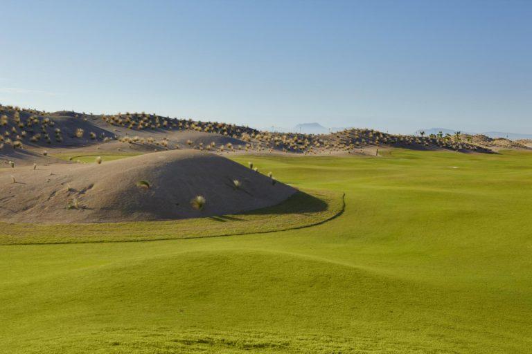 Saurines de La Torre Golf Parcours desert espagne Links 18 trous