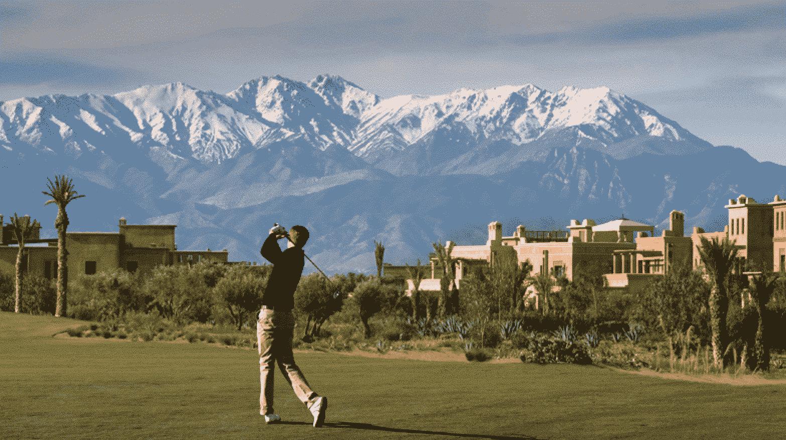 Sejour golf Maroc hotels et golfs