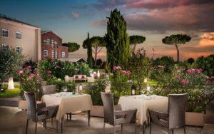 Sheraton Parco De' Medici Rome Hotel Terrasse restaurant