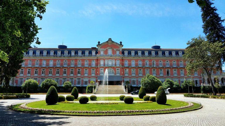 Vidago Palace Facade de l'hotel