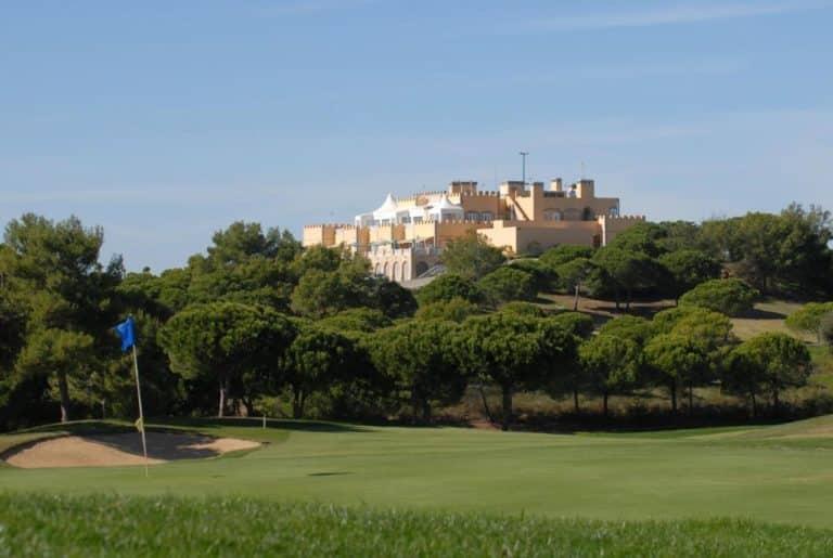 Complexe hôtelier Castro Marim Golfe and Country Club parcours de golf 18 trous