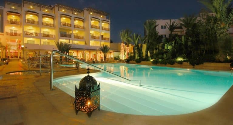 Hotel Timoulay and Spa Agadir Vacances golf Maroc