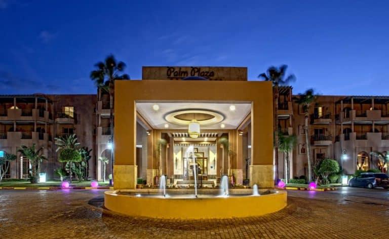 Palm Plaza Hôtel & Spa Entree de l'hotel