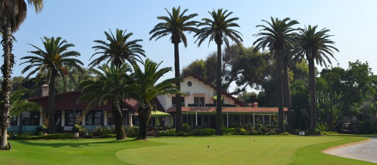 Royal Golf Anfa Mohammedia Clubhouse putting green
