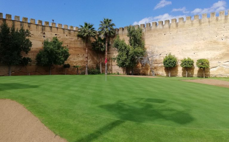 Royal Golf de Meknès Beauc parcours de golf Jardin Maroc Green