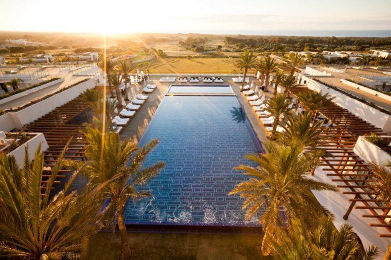 Sofitel Essaouira Mogador Golf & Spa Vue aerienne piscine palmier hotel