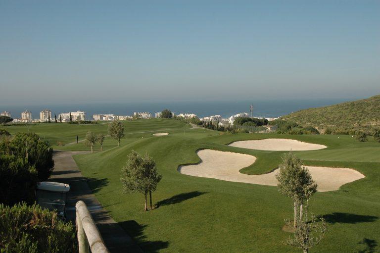 Capuchos Golf Course Parcours de golf Vue Ocean