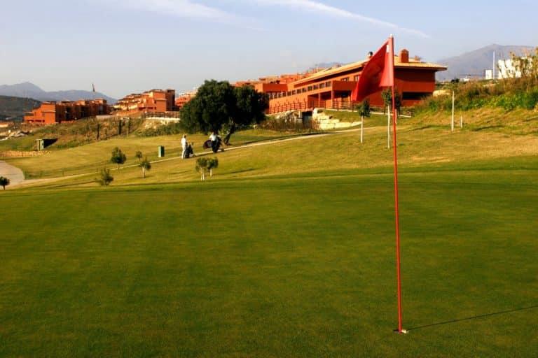 Casares Costa Golf Green du 18