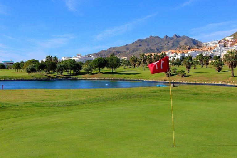 Club Marina Golf Mojacar Trou 17