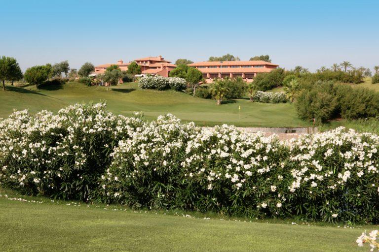 Club de Golf Hato Verde clubhouse green du 18
