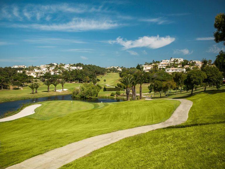 Golf Santo Antonio Soleil Algarve portugal jouer au golf 18 trous