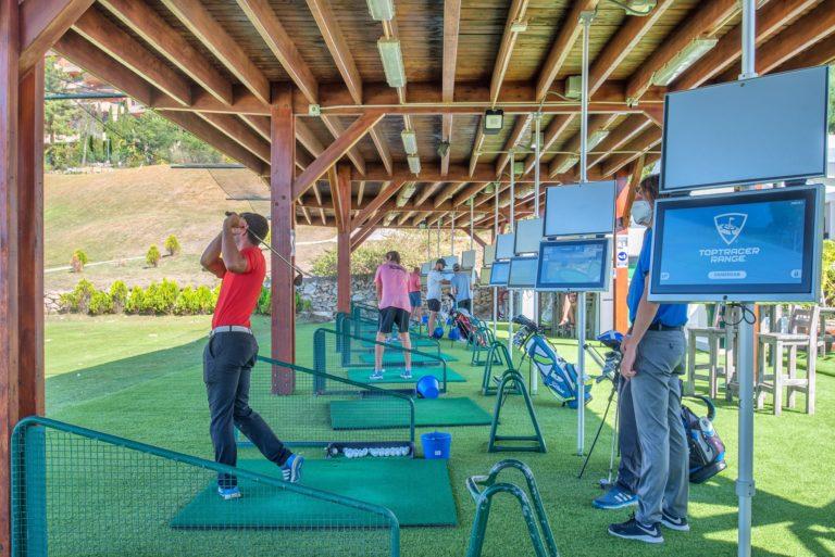 Magna Marbella Golf Practice Top Tracer Driving range Golfeurs