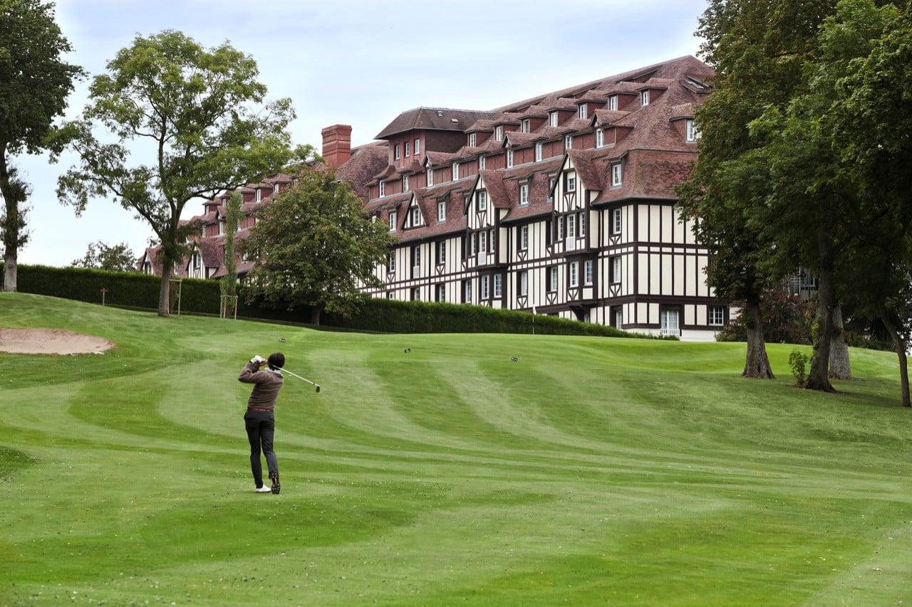 Sejour golf Normandie golf France guide parcours de golf et hotels sejour voyage week-end vacances
