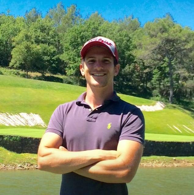 Thomas Rehberger professeur de golf au golf de la Saint Baume