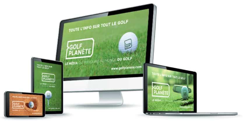 Golf planète media digital golf