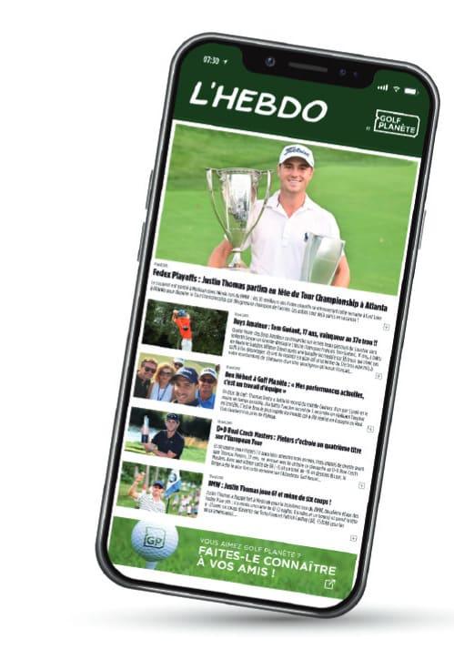 application mobilie golf planète